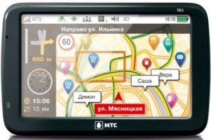 МТС выпустила новый брендированный навигатор